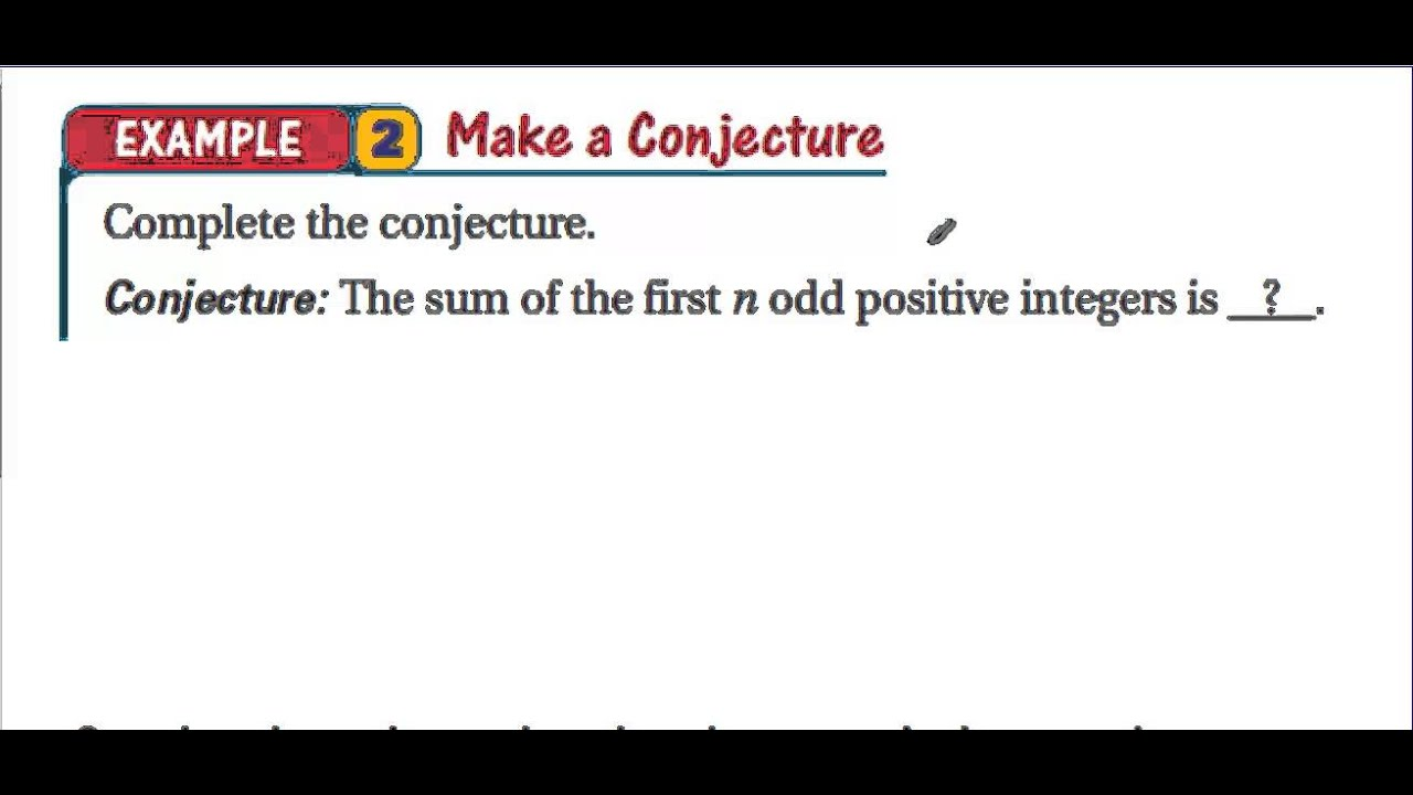 geometry conjectures Conjectures such as the riemann hypothesis (still a conjecture) or fermat's last theorem (which was a conjecture until proven in 1995 by andrew wiles) have shaped much of mathematical history as new areas of mathematics are developed in order to prove them.