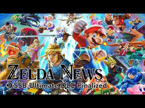 Zelda News | SSB Ultimate DLC Finalized