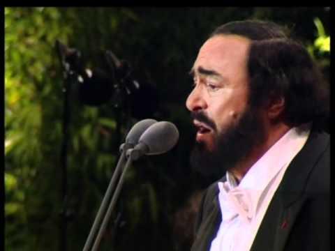 Luciano Pavarotti - Caruso (Live at Paris 1998) [480p].avi