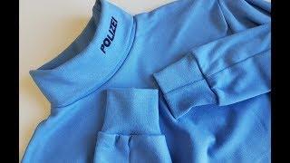 How to sew turtleneck long sleeve Tutorial.Two ways to sew the sleeve Dwa sposoby wszywania  rękawa