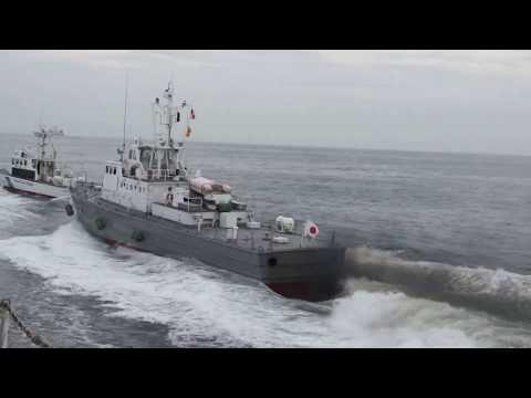 巡視船ざおう不審船制圧20120715