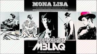MBLAQ (엠블랙) MonaLisa (모나리자) mini cover