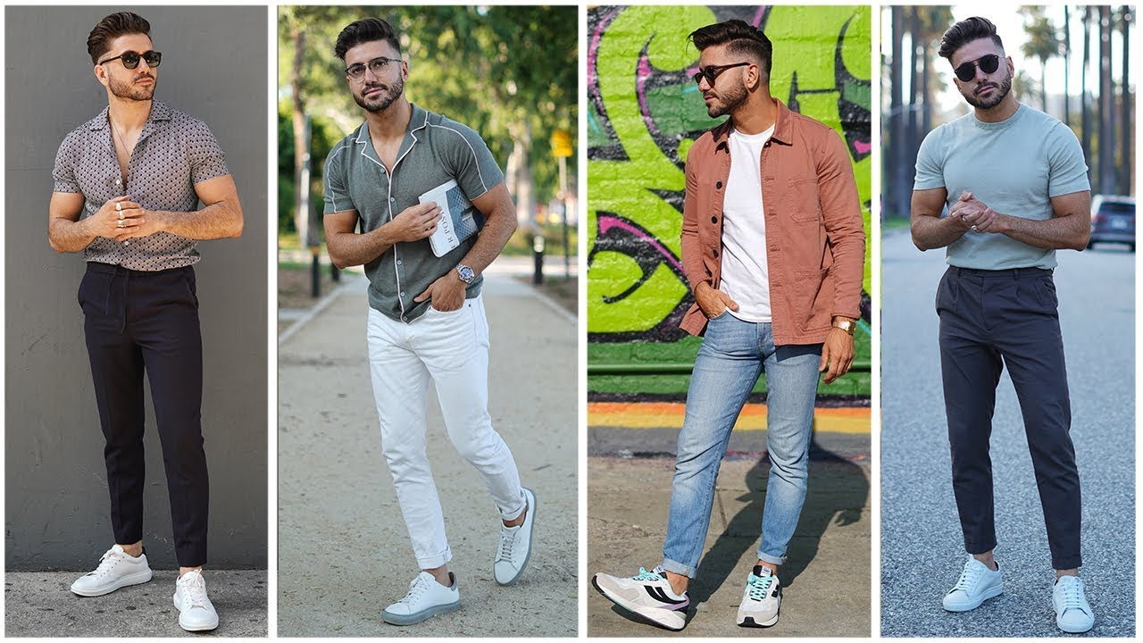 4 EASY SUMMER OUTFITS FOR MEN 2019 | MEN'S FASHION & STYLE INSPIRATION  LOOKBOOK | Alex Costa
