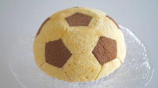 """Торт """"Футбольный мяч"""" с йогуртово-малиновым муссом"""