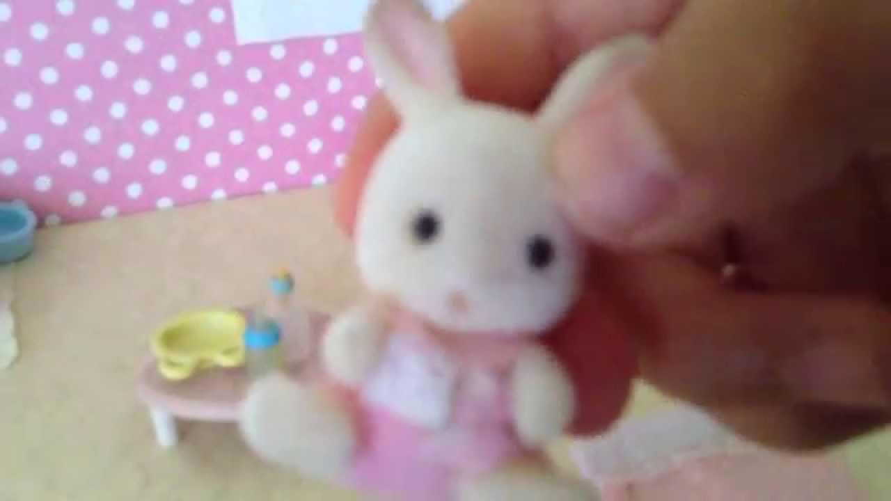Calico Critters Baby Bunny Nursery Youtube