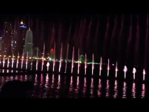Qatar Light show