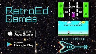 RetroEd Games - Learn Music Theory Playing Video Games!