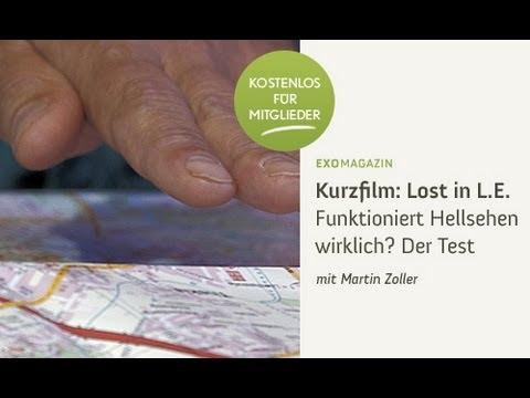 Trailer - Lost in L.E. - Funktioniert Hellsehen wirklich? Der Test mit Martin Zoller | ExoMagazin