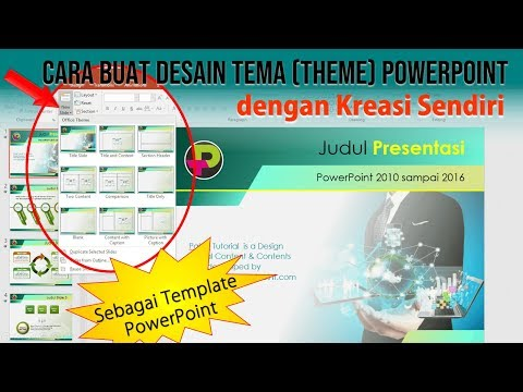 Membuat Tema Template Power Point Kreasi Sendiri