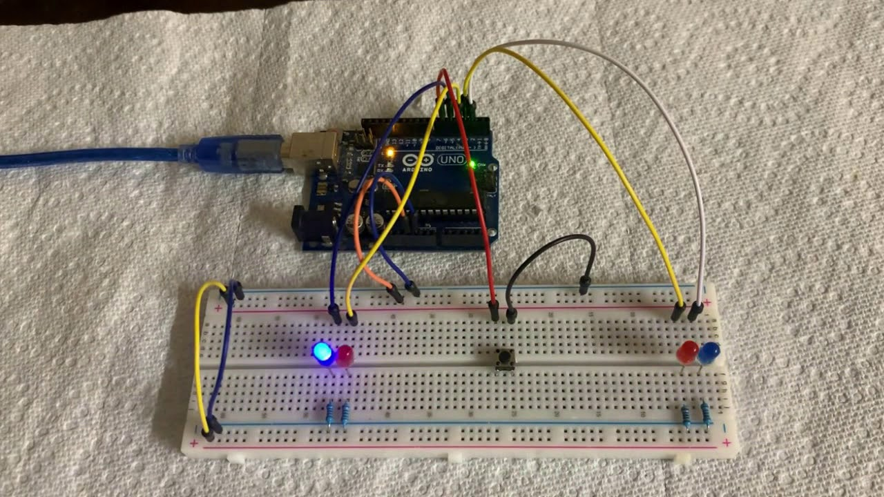 Arduino Projects For Beginners  Led Strip Control Police