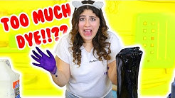 HOW MUCH CAN SLIME HOLD PART 5 | MODEL MAGIC, FOOD DYE, BABY OIL | Slimeatory #191