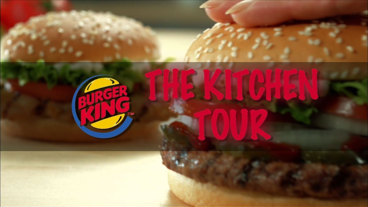 Burger King Singapores Kitchen Tour 2013  YouTube