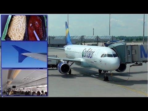 TRIP REPORT | Condor | Airbus A320 | Munich Heraklion | Economy Class | ✈