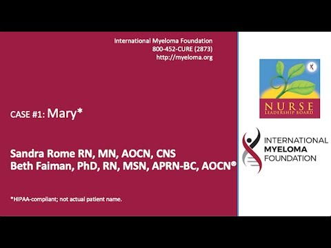 Newly Diagnosed Multiple Myeloma, Response, Bone Health, Renal Health, MRD, Survivorship Care