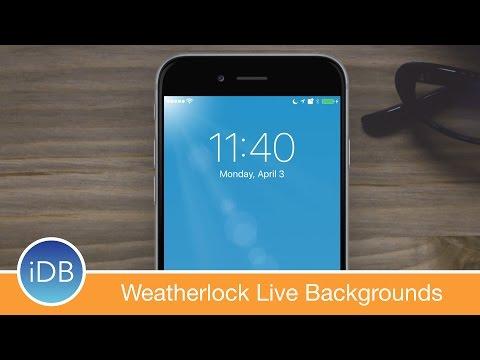 [Tweak] Weatherlock Brings Live Weather to Your Lock Screen Background