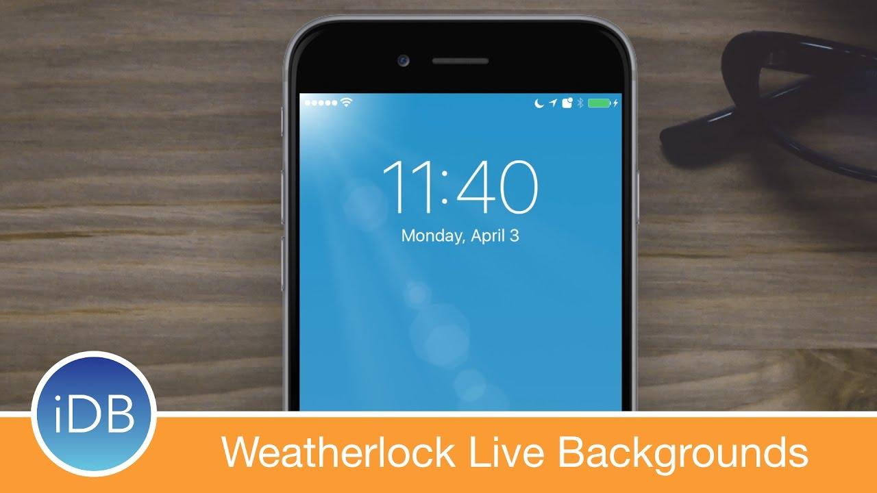 Tweak Weatherlock Brings Live Weather To Your Lock Screen