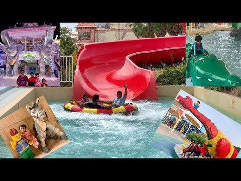 DUBAI PARKS & RESORTS rides | Legoland Dubai | Legoland Water park | Bollywood park