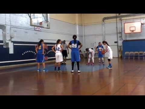 6th Grade Girls SGV vs Cal Sparks March 2014 GBL Tournament