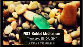 "Guided Meditation - ""You are Enough"" - Subconscious Healing"