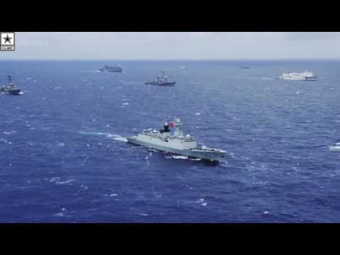 Military | Super Massive Ship Formation – US Navy Exercise RIMPAC