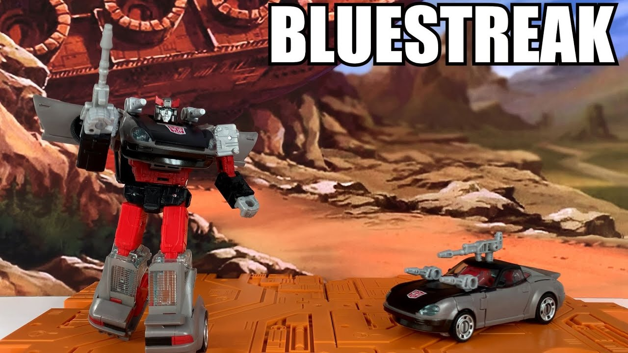 Transformers Earthrise Bluestreak Walgreens Exclusive Unboxing and Review By Enewtabie