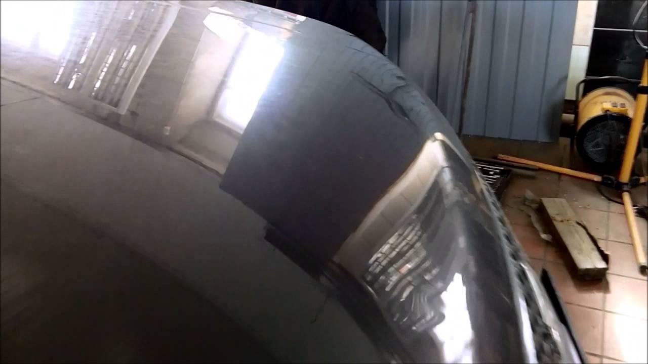 Suzuki Grand Vitara - вмятины на боку