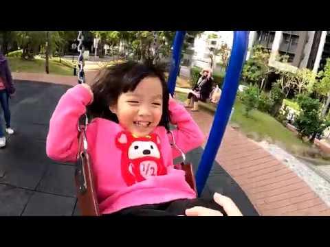 帶彤彤去公園晃晃,順便測試一下GoPro 8的防手震是不是真的那麼猛