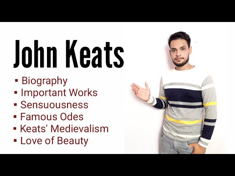 John Keats in Hindi