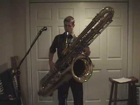Contrabass Saxophone