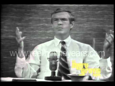 Dr  Timothy Leary interview LSD Merv Griffin Show 1966