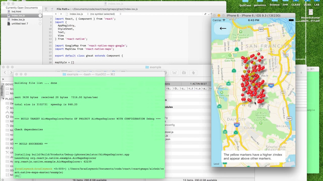 React Native Maps YouTube - React us heat map