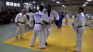 Un entraînement avec Teddy Riner