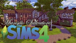 The Vampire Diaries (Mansão Salvatore) │ The Sims 4 (Speed Build) Mp3