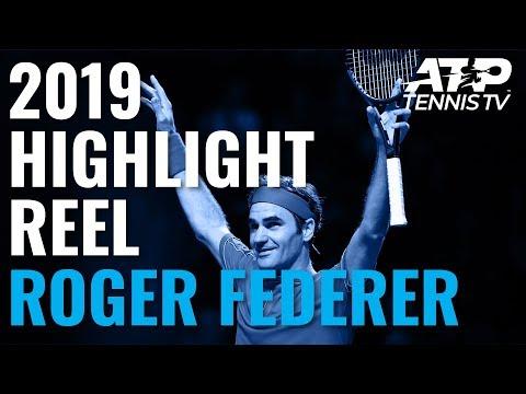ROGER FEDERER: 2019 ATP Highlight Reel