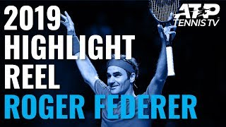 ROGER FEDERER: 2019 ATP Highlight Reel