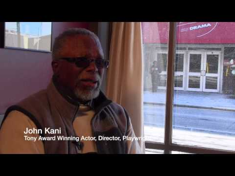 John Kani Interview, Part 2: SIZWE Today, Bridging a Political Gap