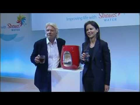 Richard Branson and Ofra Strauss launch Virgin Pure