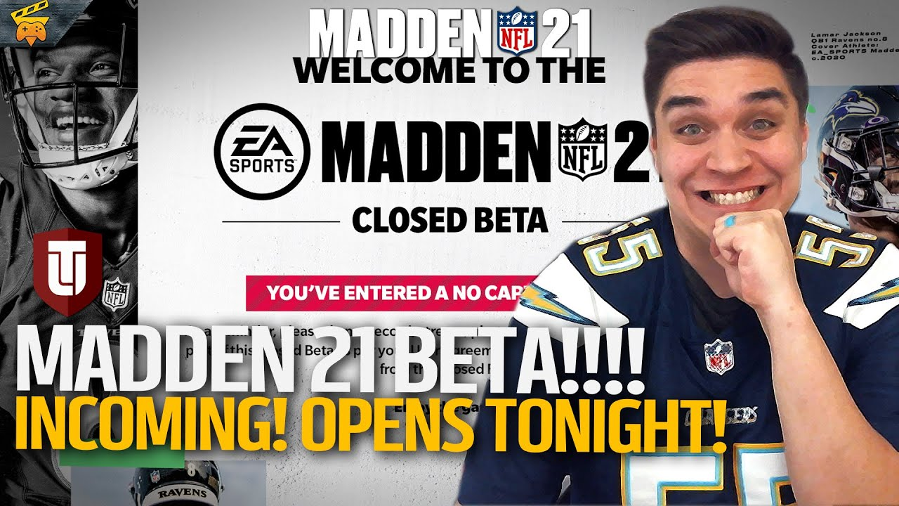 MADDEN 21 BETA OPENS TONIGHTS!! Details Here!   Madden 21