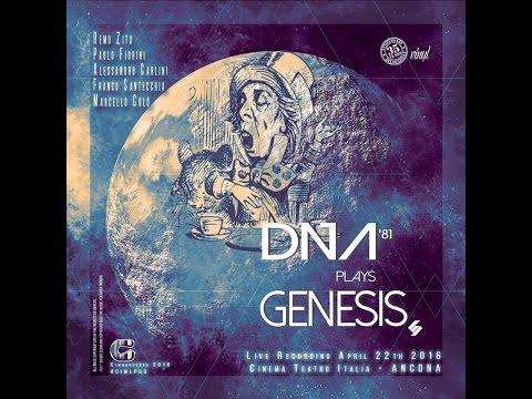 DNA'81 plays GENESIS performed at Cinema Teatro Italia Ancona April 22nd 2016