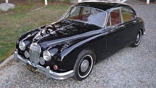 1960 Jaguar, Mk II Sedan, CA Car, Black Plate, Automatic, SOLD