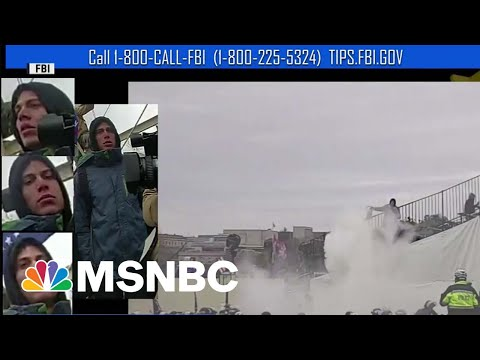 FBI Arrests Capitol Riot Suspect For Spraying Multiple Officers