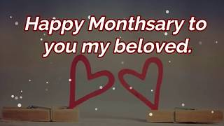 Monthsary Message For Boyfriend: Monthsary/Anniversary Messages, Wishes, Quotes for Boyfriend