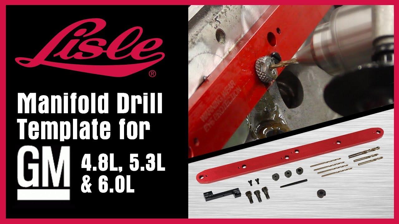 gm drill template 1 ea lisle