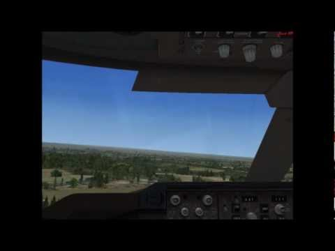 Flight Simulator X-Start w Gdańsku PLL Lot-em Boeing 747