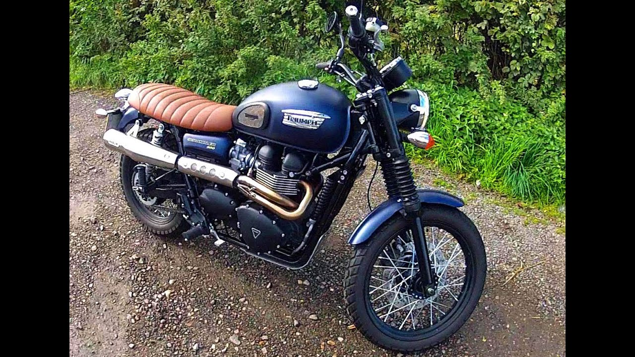 2015 triumph scrambler review youtube. Black Bedroom Furniture Sets. Home Design Ideas
