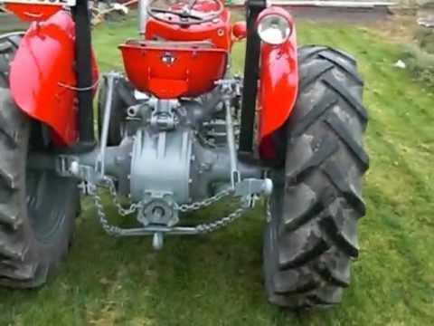 Massey Ferguson 35 X 1964 Youtube