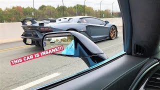 SAVAGE GARAGE CALLED ME OUT!!! STRAIGHT PIPED SVJ VS ZR1... *He Never Had a Chance!*