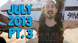 Italy ✈ Switzerland ✈ Belgium ✈ Spain - On The Road w/ Steve Aoki #84
