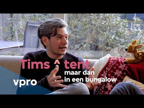 Maarten Heijmans bij Tims ^ tent: maar dan in een bungalow