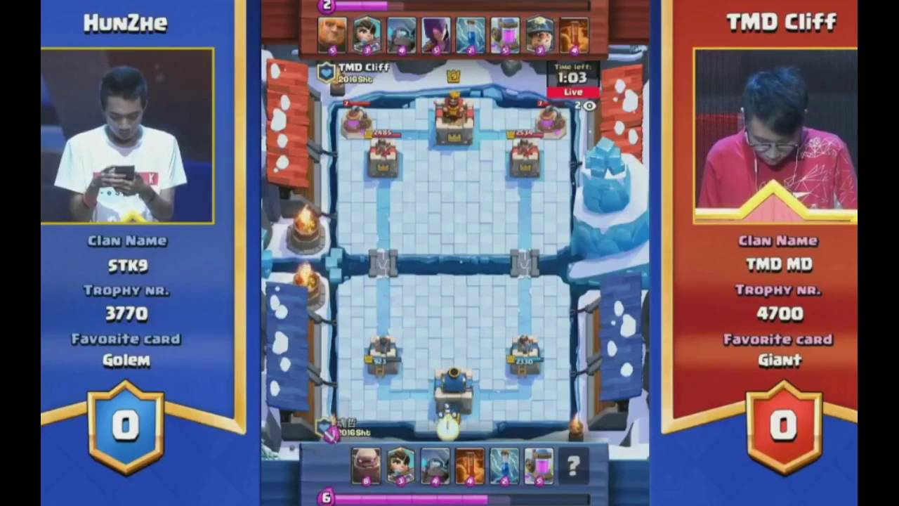 ... ) round 1 SEMI FINALS/CLASH ROYALE SHANGHAI TOURNAMENT 2016 - YouTube
